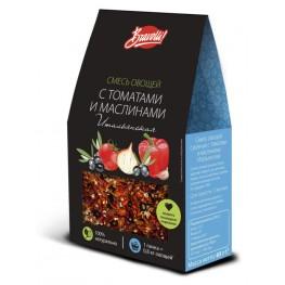 Смесь овощей с томат и маслин «Итальянская» Bravolli 65 г