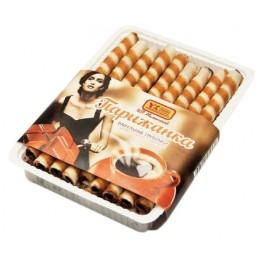 Вафельные трубочки «Парижанка» с шоколадной нач. «Усть-Илимскхлеб» 150 г