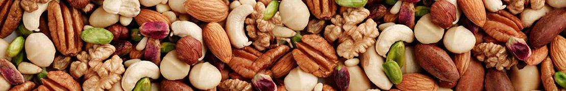 Орехи, семечки и сухофрукты