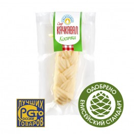 Сыр «Качкавал» 45% «Сибиржинка» (косичка) 100 г