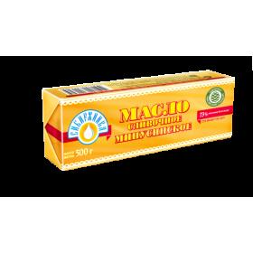 Масло «Минусинское» сливочное «Сибиржинка» мдж 73,0% 500 г
