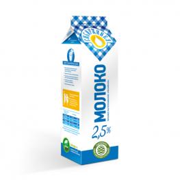Молоко питьевое «Российское» 2,5% «Сибиржинка» т/п  1 л