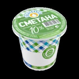 Сметана 10%  «Сибиржинка» стак. 305 г