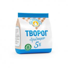 Творог «Традиция» 5% «Сибиржинка» 200 г