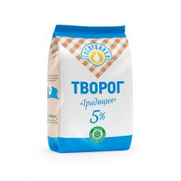 Творог «Традиция» 5% «Сибиржинка» 500 г
