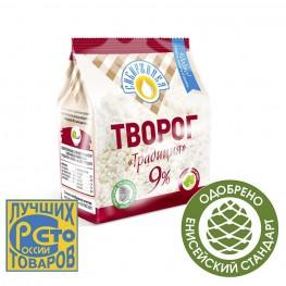 Творог «Традиция» 9% «Сибиржинка» 200 г
