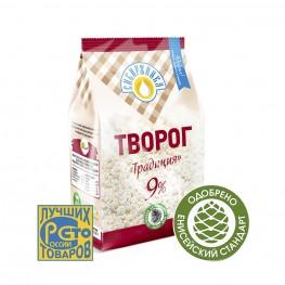 Творог «Традиция» 9% «Сибиржинка» 500 г