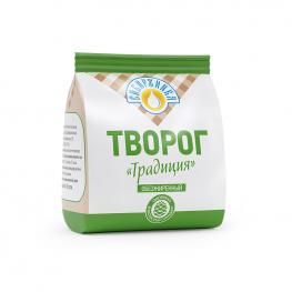 Творог «Традиция»  обезжиренный «Сибиржинка» 200 г