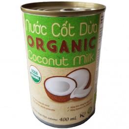 Молоко кокосовое Organic ж/б «VietCOCO» 400 мл