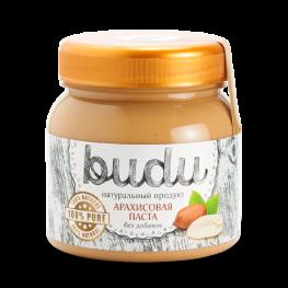 Паста арахисовая BUDU Без добавок 250 г