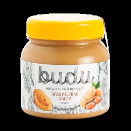 Паста арахисовая BUDU Кранч 250 г
