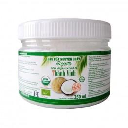 Масло кокосовое  Organic Extra Virgin 0,25 л бан